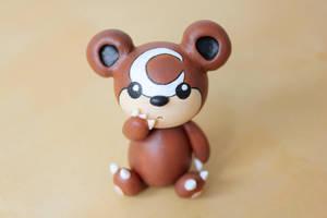 Little Bear Teddiursa by lonelysouthpaw