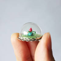 Micro Ivysaur Bubble by lonelysouthpaw