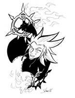 Axel- lookin' at you by Sea-Salt