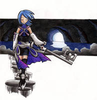 Aqua- The Last Keyblade Master by Sea-Salt