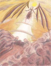 The Angel Takes Flight by Sea-Salt