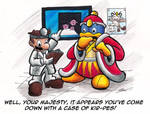Dedede's doctor visit.... by Sea-Salt