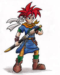 Crono -Kingdom Hearts by Sea-Salt