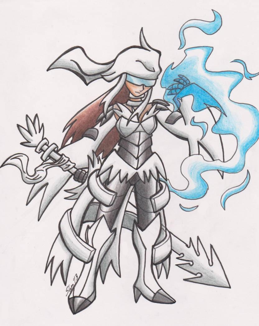 Reshiram armor by Sea-Salt
