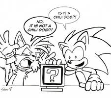 Sonic and Tails and the Mystery Item Box by Sea-Salt
