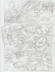 Sonic Legacy pencils - 1-13 by Sea-Salt
