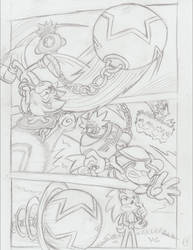 Sonic Legacy pencils - 1-19 by Sea-Salt
