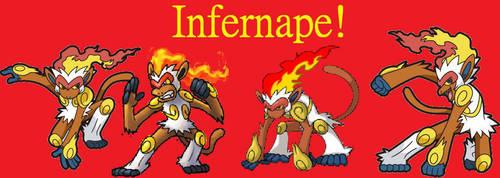Infernape Wallpaper by Dark-Infernape