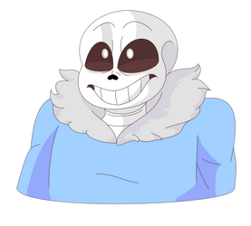 Sans MS Paint by NekoSugarStar