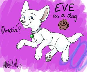 EVE as a Dog by T-2-da-Rouble