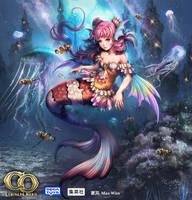 Colossus Order-Mermaid by wanhsienwei