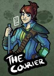 Fallout New Vegas: The Courier by BearlyHeroic