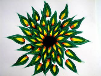 Phoenix Flower by Gabes-Belle