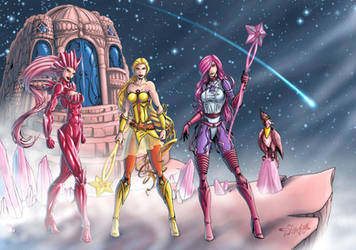She-Ra Princess of Power - Star Sisters by Killersha