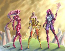 She-Ra Princess of Power - Star Sisters v2 by Killersha