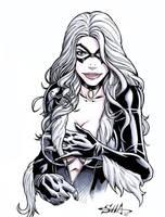 Black Cat by Killersha