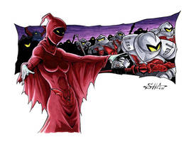 MotU - Shadow Weaver and Horde Troopers by Killersha