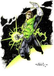 Green Lantern by Killersha
