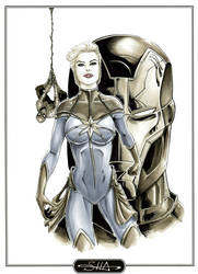 Captain Marvel by Killersha