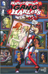 Harley Quinn and Poison Ivy Blank Cover by Killersha