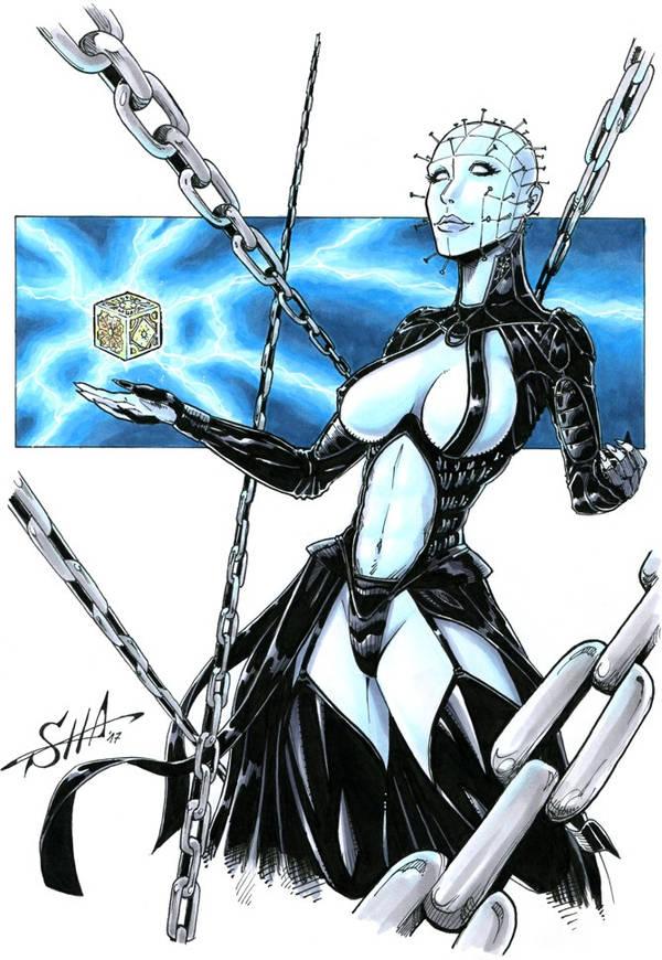 Hellraiser Priestess by Killersha