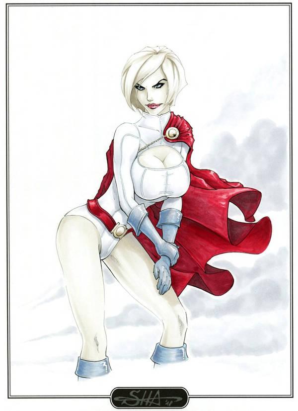 Powergirl by Killersha
