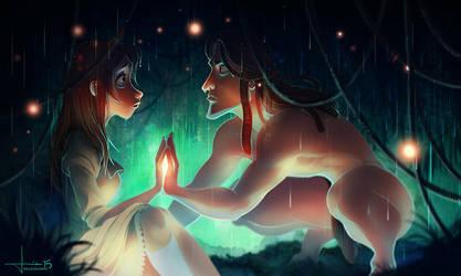 Tarzan: Two Worlds by kelogsloops