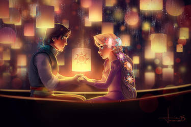 Tangled: I See the Light by kelogsloops