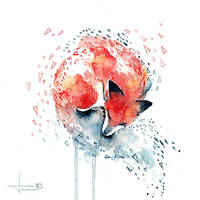 rest - fox by kelogsloops