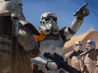 Sandtrooper Detachment by whatyoumaydo