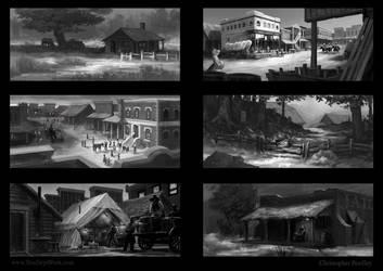 Western Town ideas by whatyoumaydo
