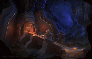 Dwarven Stronghold - Dnd 5th Edition by whatyoumaydo