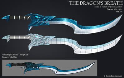 Captain Rosalynn's sword: The Dragon's Breath by PadawanLinea