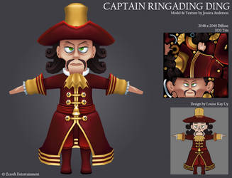 Captain Ringading Ding by PadawanLinea