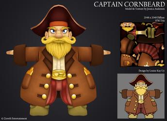 Captain Cornbeard by PadawanLinea