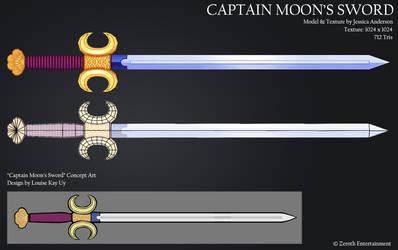 Captain Moon's Sword by PadawanLinea