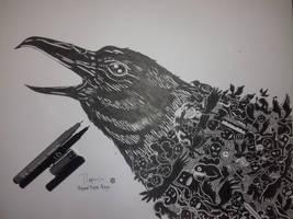 Illustration Bird by rofiqauliya
