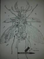 ink illustration by rofiqauliya