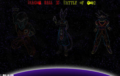 Dragon Ball Z Battle of Gods by Djsuperhero