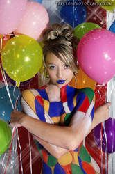 Rikki Colorful Crossed Balloon by tarltonphotography