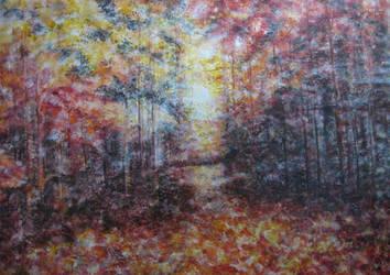 Autumn's Brilliance by nhowell