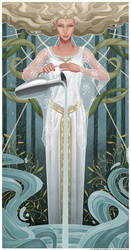 The Mirror of Galadriel by Sh3lly