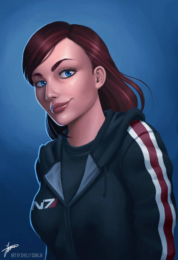 Commander Shepard Commission by Sh3lly