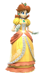 Daisy from Super Smash Bros. Ultimate! by Daisy9Forever