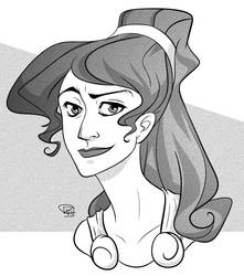 Megara by richie-on-a-mission
