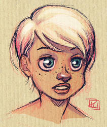 Evening Sketch by richie-on-a-mission