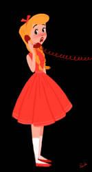 calling a friend by Vijolea