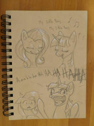 Nothing to see here, Everything's perfectly normal by TadpoleDude