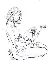 12 and Clara by ReshiPKMN