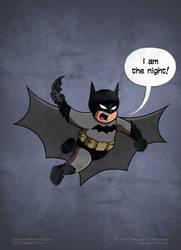 Little Batman by LordRembo